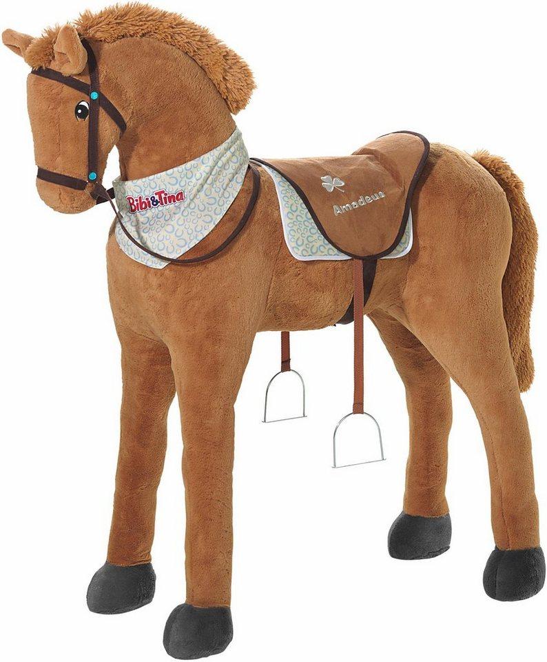 Heunec Stehpferd,  Bibi & Tina Pferd Amadeus, ca. 113 online cm  online 113 kaufen 9ebe41