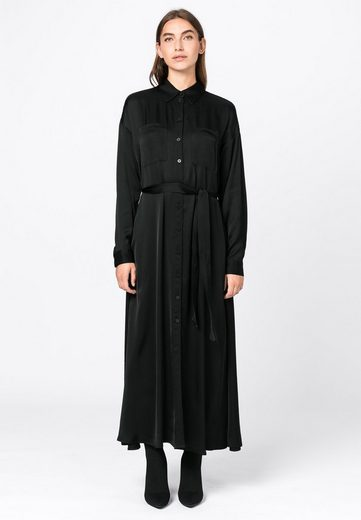 HALLHUBER Blusenkleid »aus Satin«