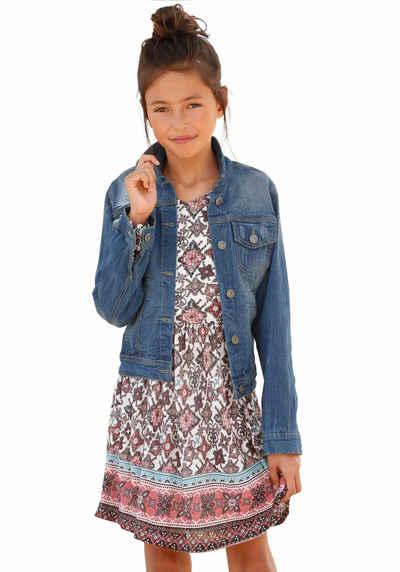 akzeptabler Preis elegante Schuhe neue angebote Jeansjacken für Mädchen » Denim-Look für die Kleinen   OTTO