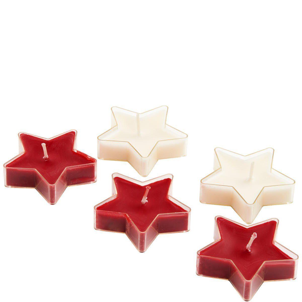 BUTLERS X-MAS »STARS Schwimmkerzen«