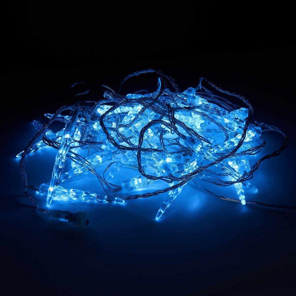 Butlers bright night led lichterkette eiszapfen 40 - Butlers weihnachten ...