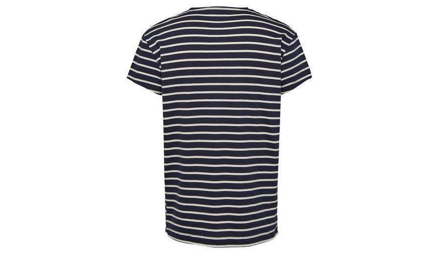 Selected Homme Rundhalsausschnitt- T-Shirt Neue Ankunft Günstiger Preis wCyUxMYM