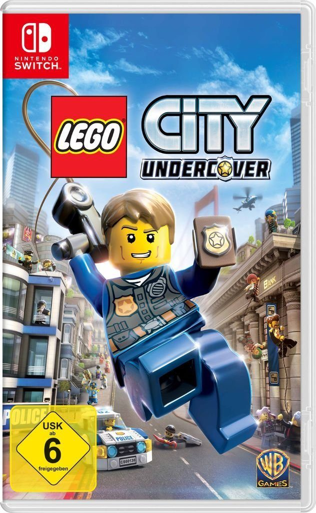 Warner Games Nintendo Switch - Spiel »LEGO City Undercover«