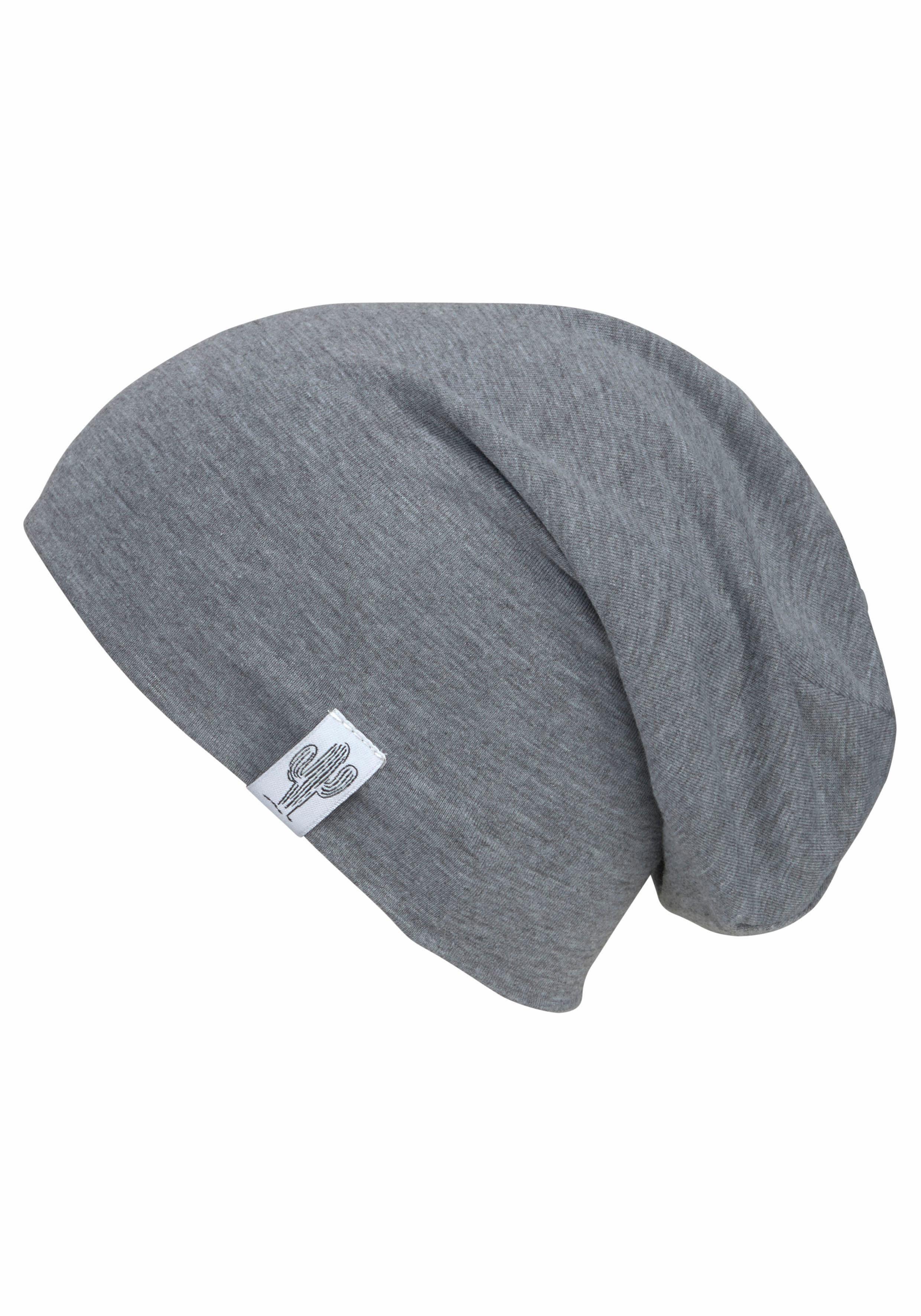 J.Jayz Beanie, Jersey Mütze, Oversize, Logo Flag Label