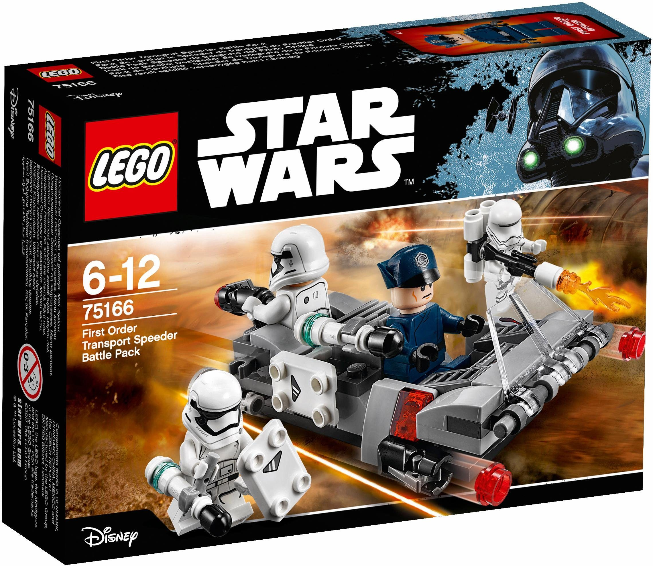 LEGO® First Order Transport Speeder Battle Pack (75166), »LEGO® Star Wars™«