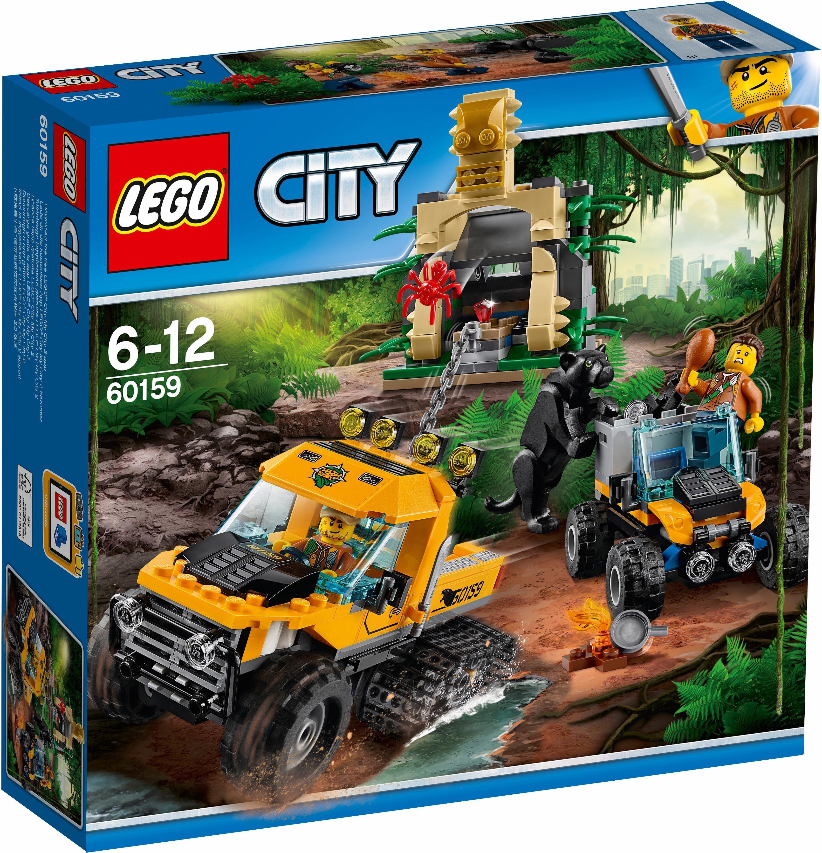 LEGO® Mission mit dem Dschungel-Halbkettenfahrzeug (60159), »LEGO® City«