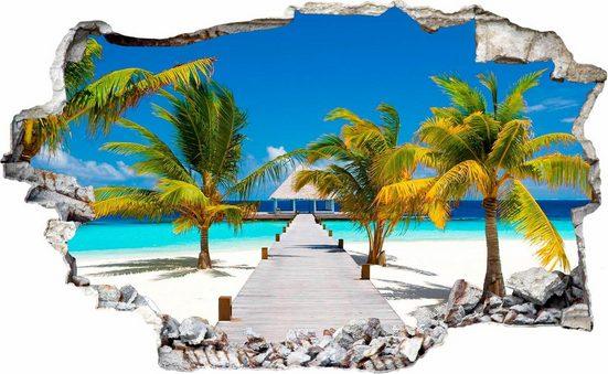 Wandtattoo »Der weg ins Paradies«