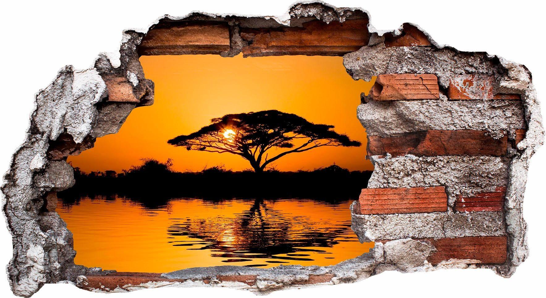 Wandtattoo »Afrika«