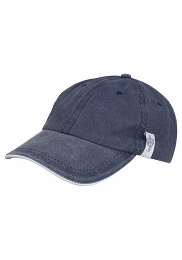 J.Jayz Baseball Cap (1-St) verwaschen, Denim Look