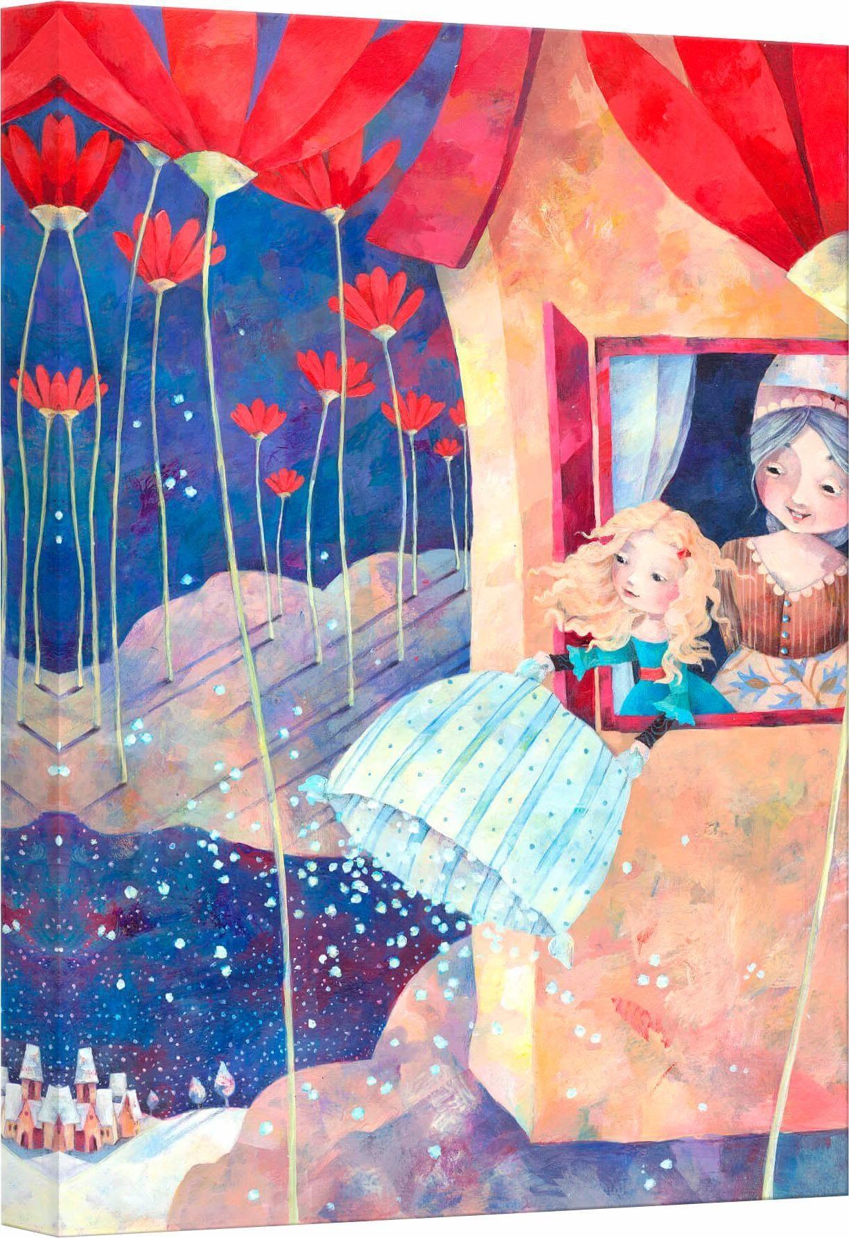Leinwandbild »Blanz - Frau Holle«, 30/45 cm