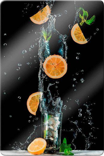 Glasbild »Belenko - Splashing Lemonade«, in 3 Größen