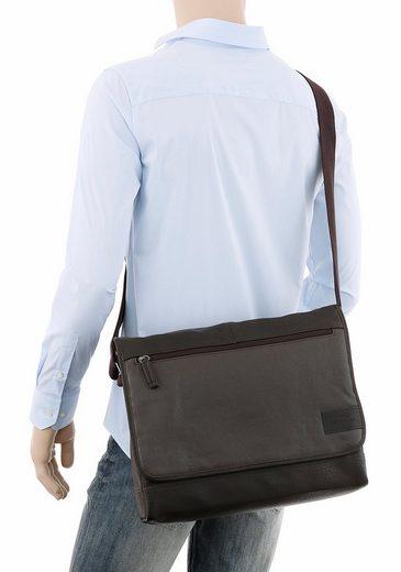 Tom Tailor Messenger Bag BRYAN, crossbody mit gepolstertem Laptopfach