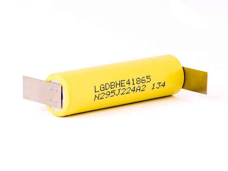 LG »LG ICR 18650-HE4 - 2500mAh 3,6V - 3,7V (20A) Lithi« Akku