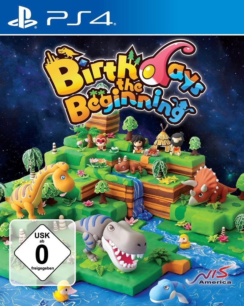 NIS Playstation 4 - Spiel »Birthdays The Beginning«