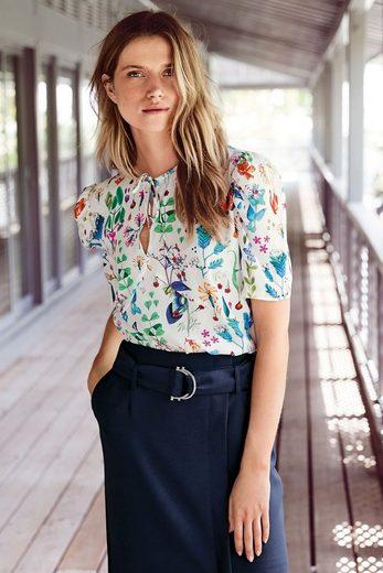 Next Bluse mit floralem Print