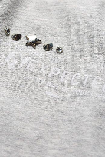 Next T-Shirt mit Unexpected-Schriftzug