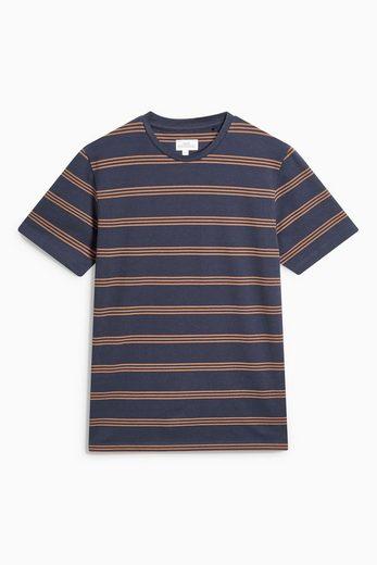 Next T-Shirt mit Streifen