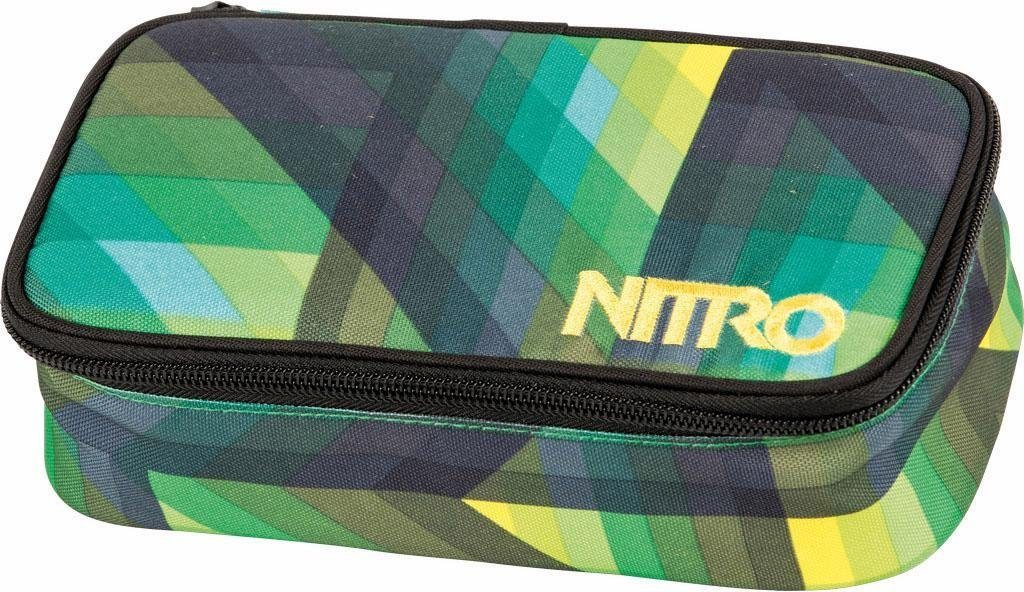 Nitro Mäppchen, »Pencil Case XL - Geo Green«