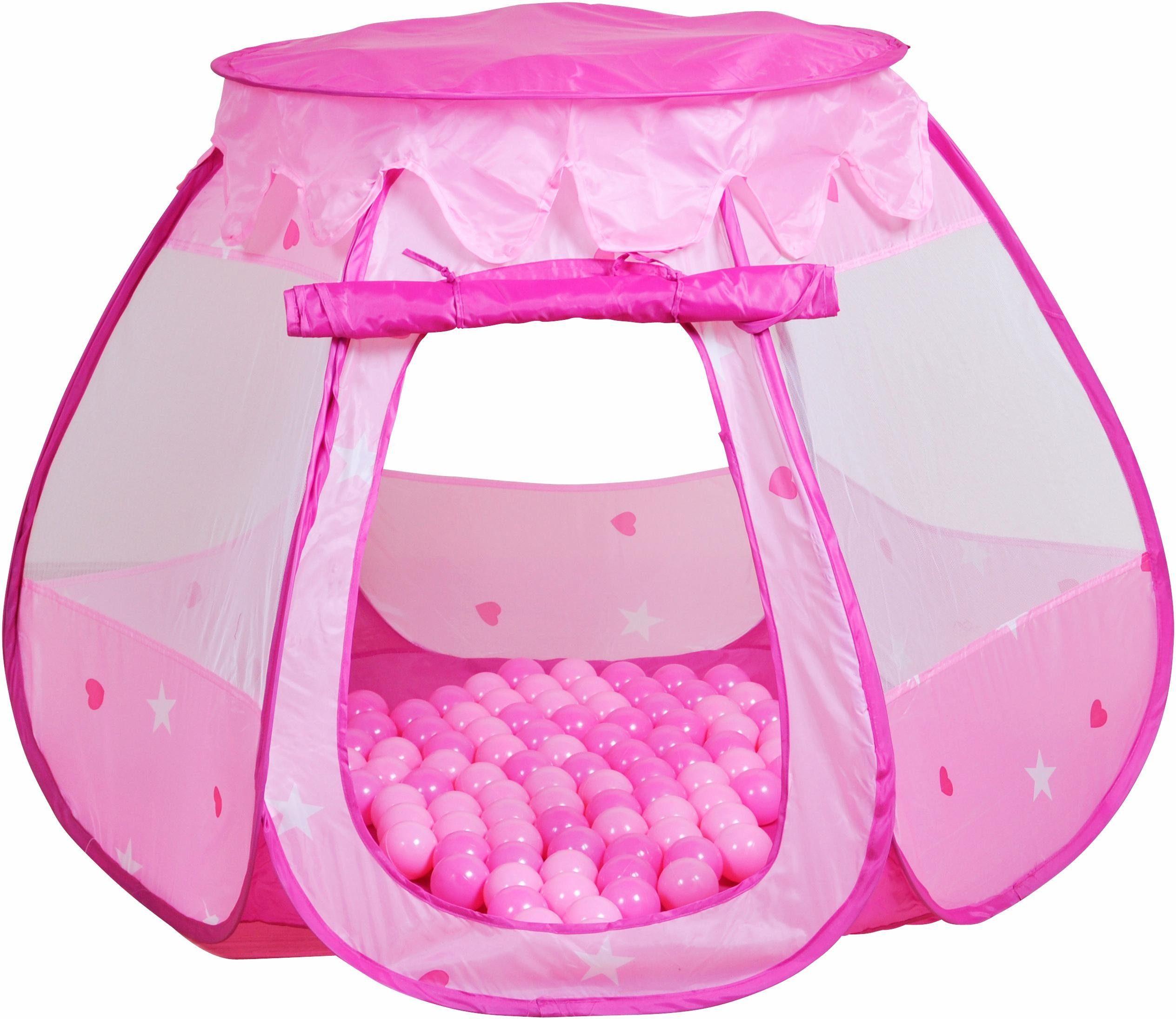 Kinderzelt und Bällebad mit 100 Bällen, »Bella«, knorr toys