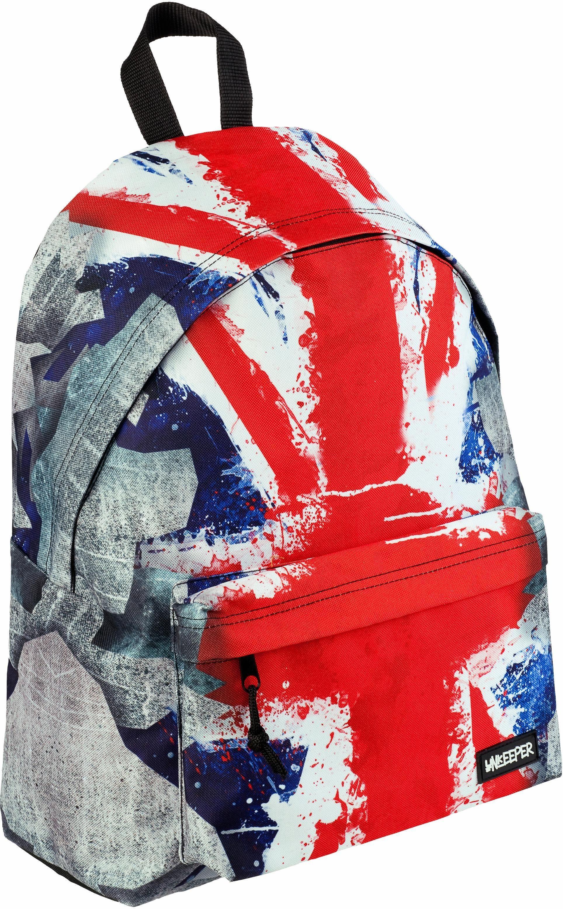 Unkeeper Rucksack, »Union Jack, Adventure Daypack«