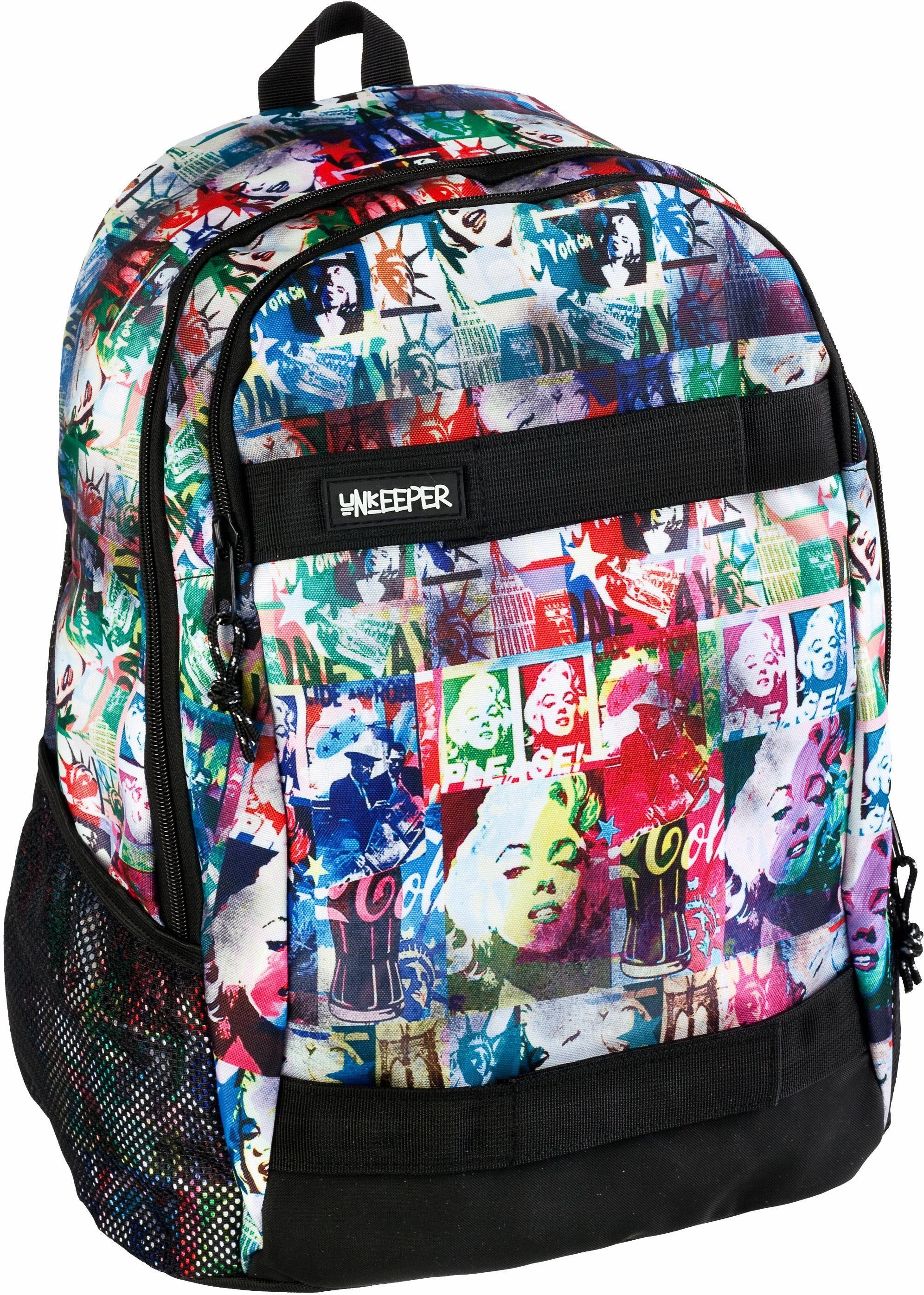 Unkeeper Rucksack, »Marilyn Monroe, Adventure Backpack«