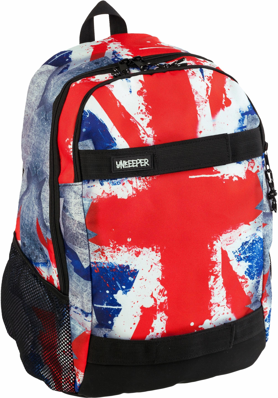 Unkeeper Rucksack, »Union Jack, Adventure Backpack«