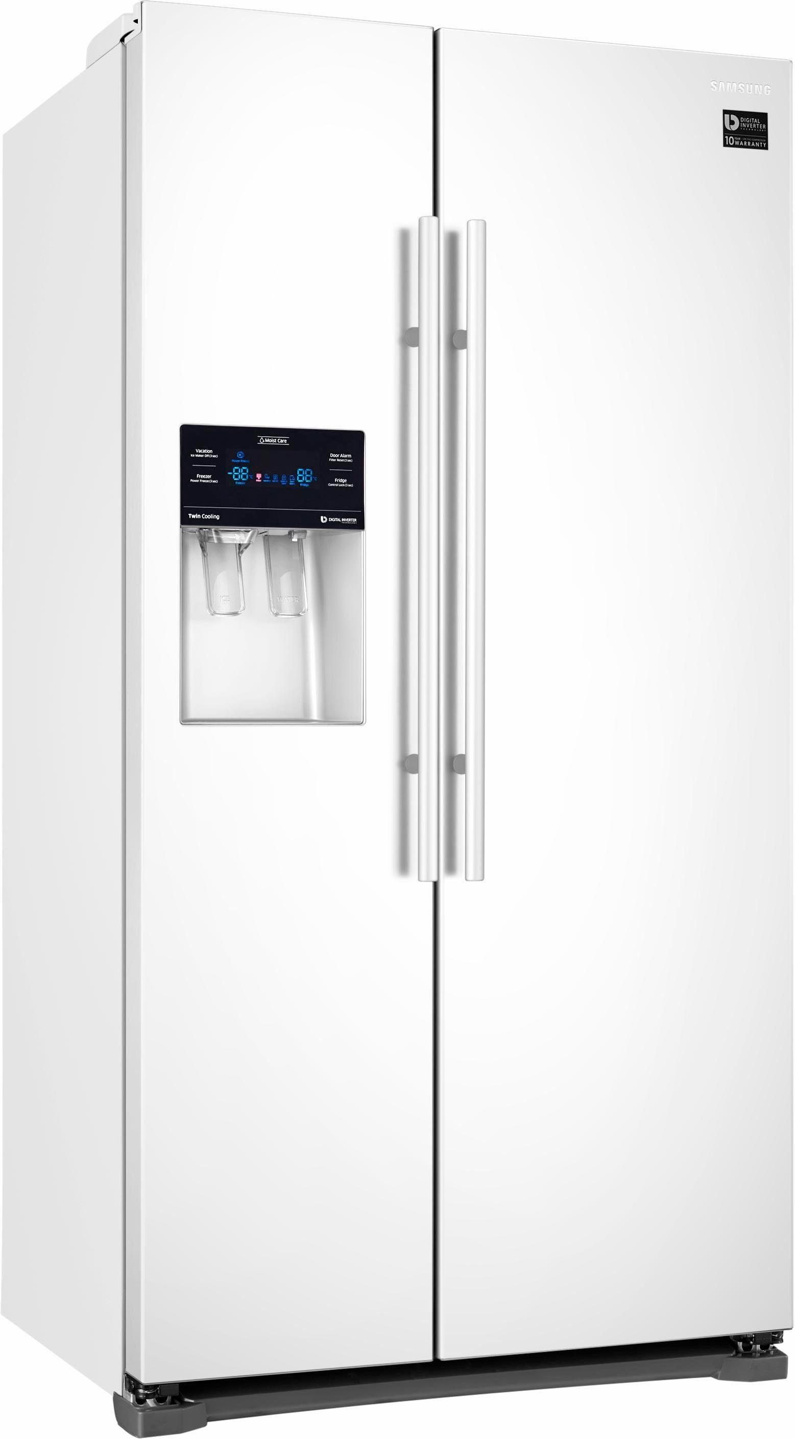Samsung Side-by-Side RS53K4400WW, 178,9 cm hoch, 91,2 cm breit