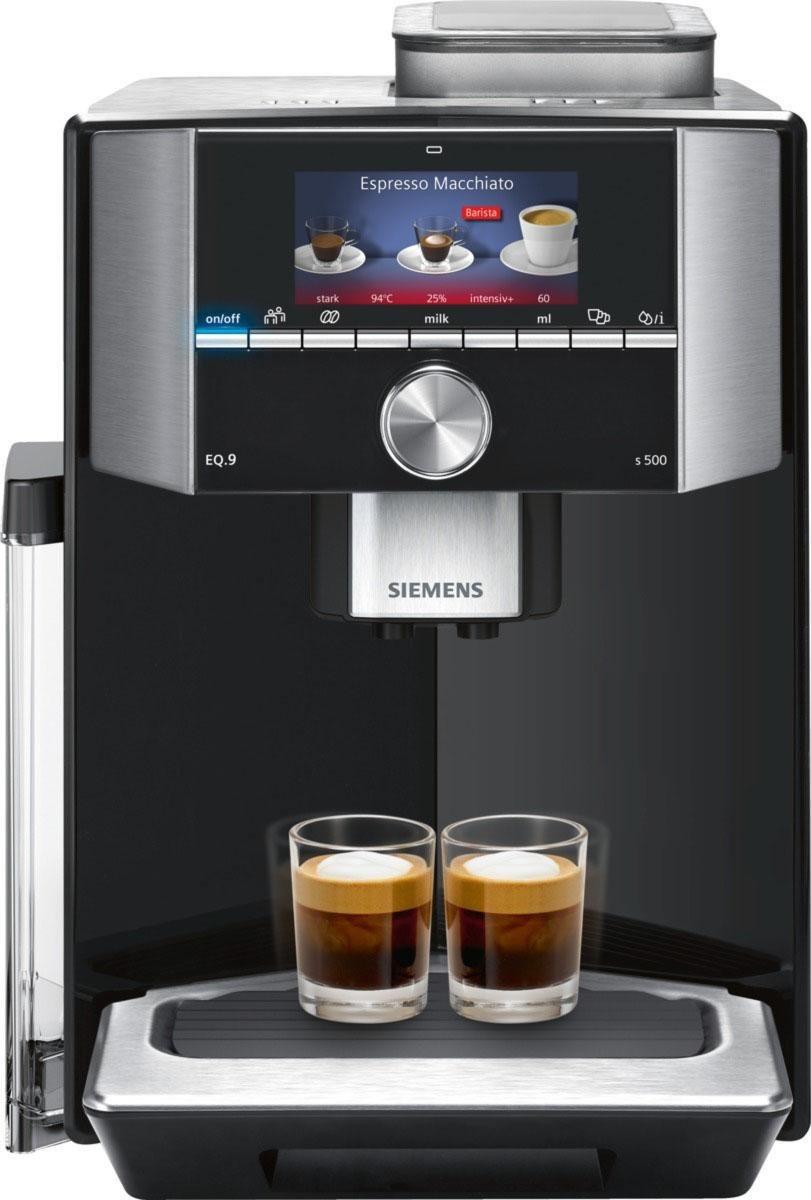 Kaffeevollautomat EQ.9 s500 TI915539DE, der leiseste Kaffeevollautomat