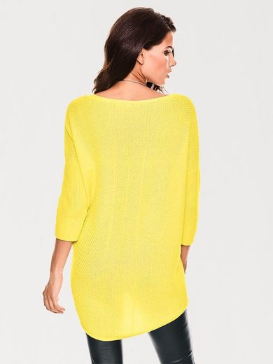 ASHLEY BROOKE by Heine V-Pullover Oversized