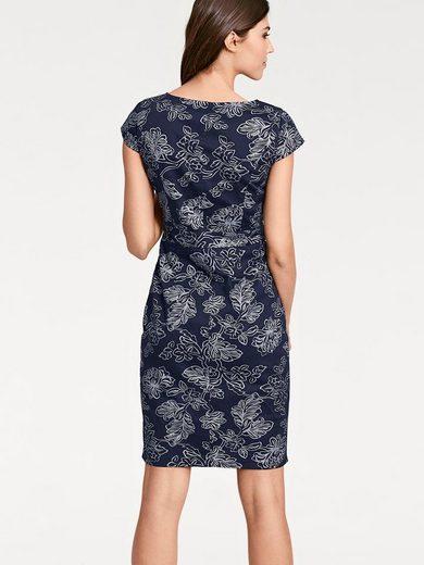 ASHLEY BROOKE by Heine Bodyform-Druckkleid mit Blumendessin