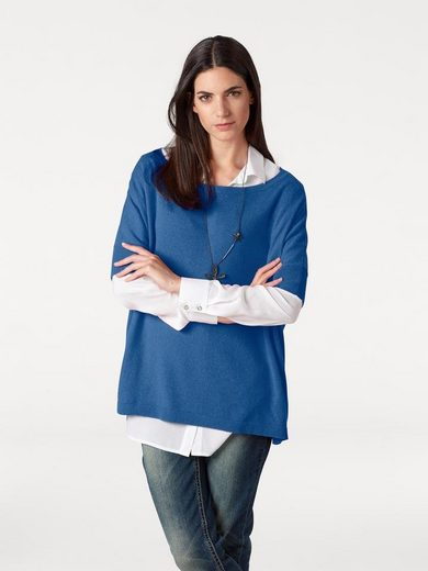 B.C. BEST CONNECTIONS by Heine U-Boot-Pullover Oversized