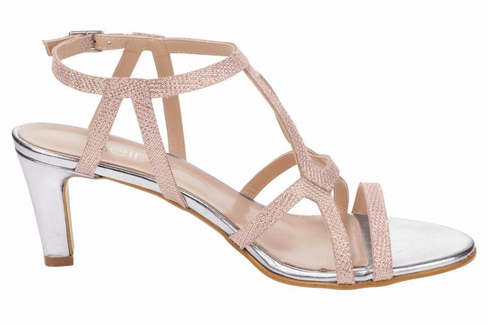 Heine Sandalette Sandalette Heine online kaufen  rosé#ft5_slash#metallic 437ca5