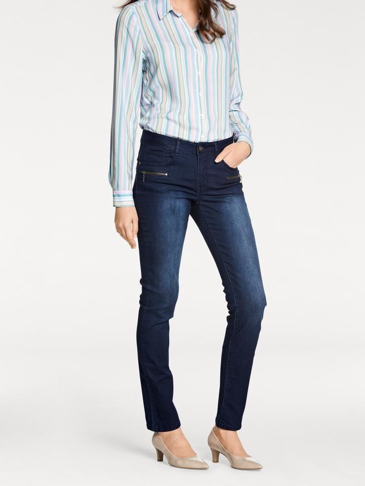 50da1e8d1cf9 heine TIMELESS Bauchweg-Jeans Alwa mit Push-up Effekt online kaufen | OTTO