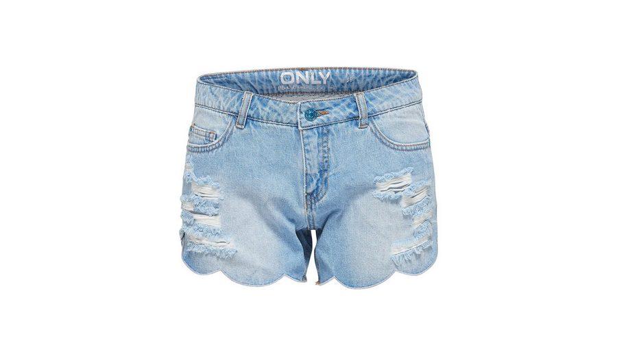Only Carmen reg Shell Edge Jeansshorts Günstig Kaufen Niedrigen Preis Spielraum Günstig Online Echt Billig Vorbestellung 70G3CsDmh