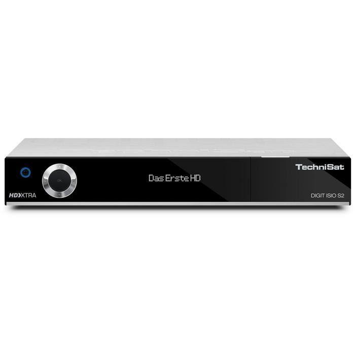 TechniSat Twin HDTV Satelliten-Receiver (PVR, 3x USB, CI+, UPnP) »DIGIT ISIO S2«