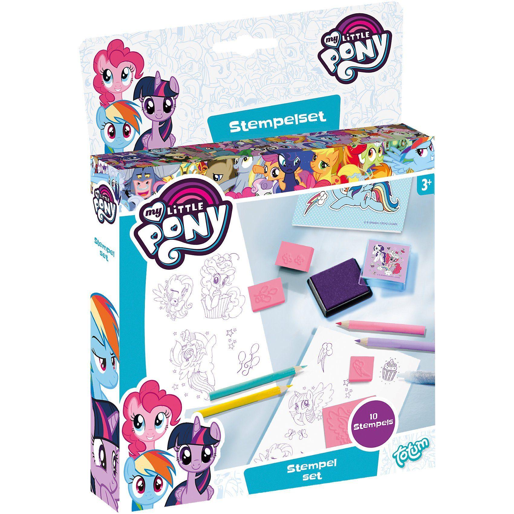 totum My Little Pony Stempelset