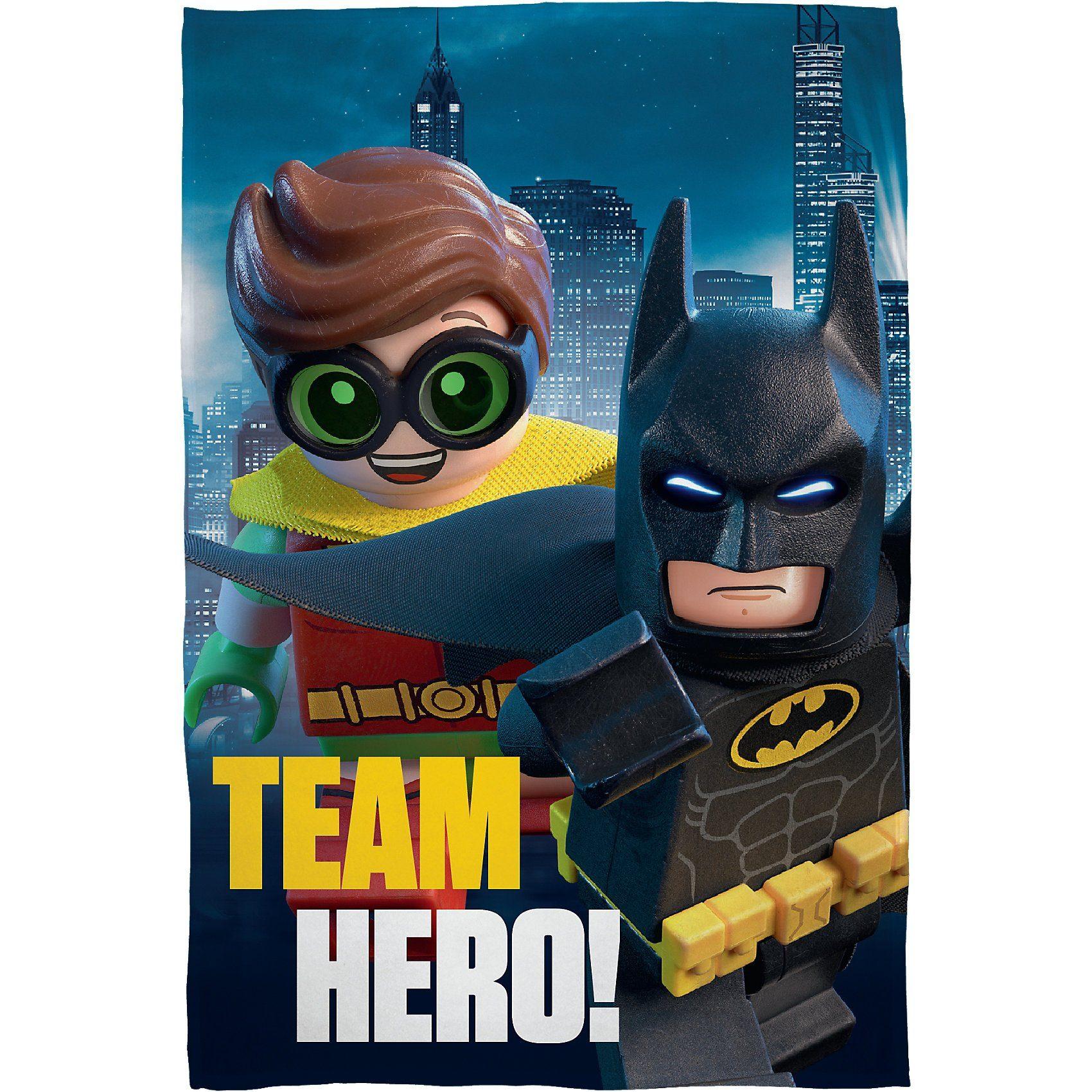 Kuscheldecke LEGO BATMAN, 100 x 150 cm