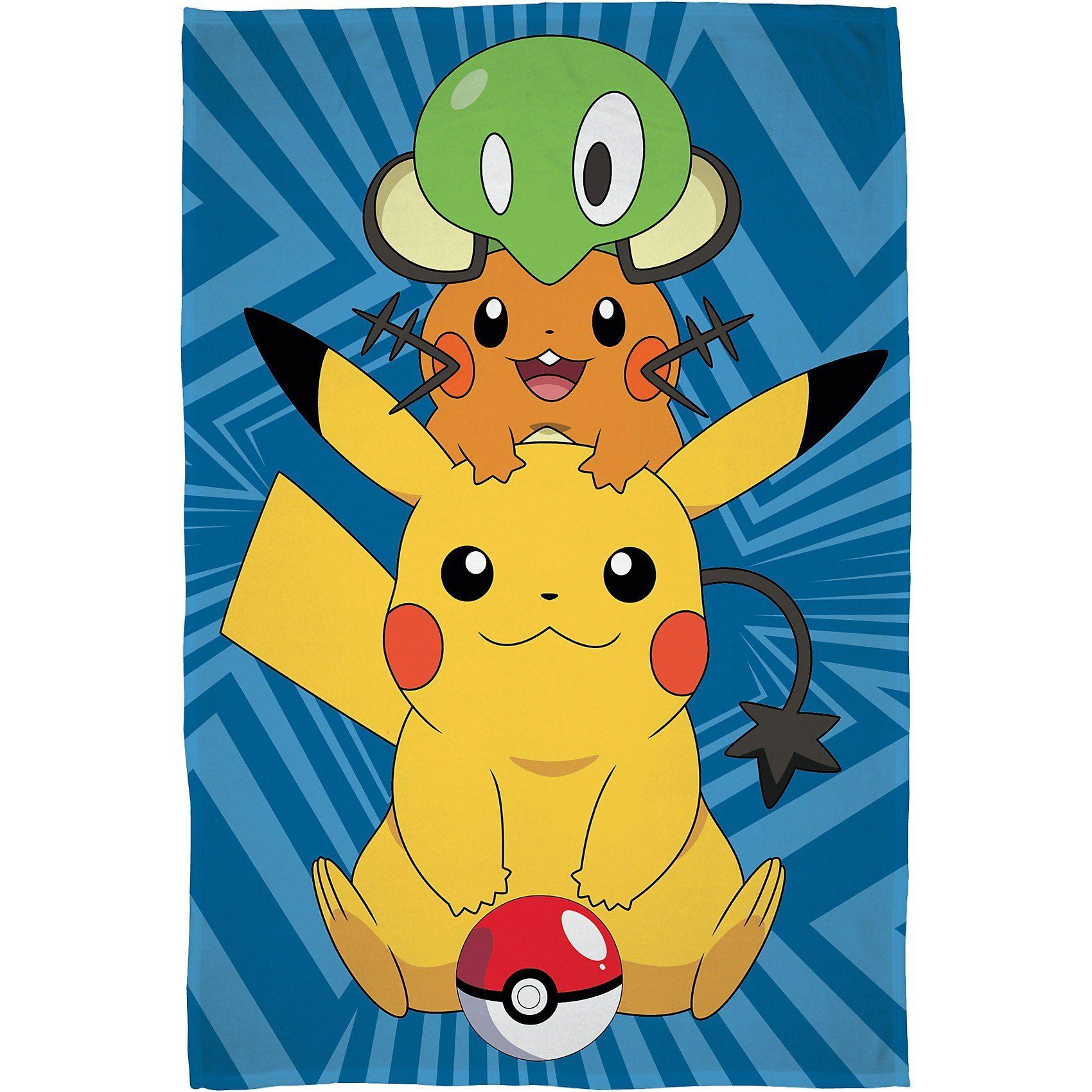 Kuscheldecke Pokemon, 100 x 150 cm