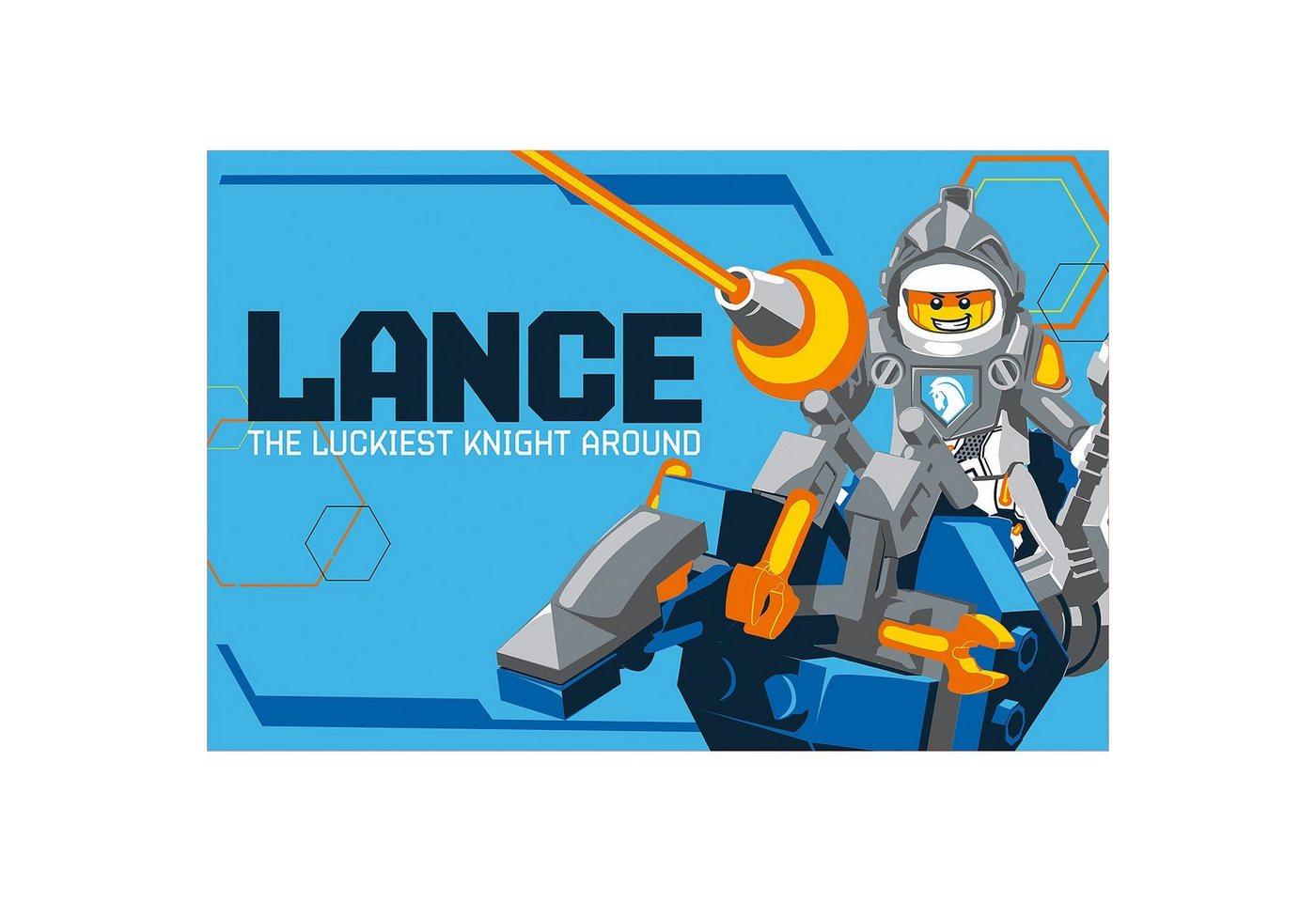 Lego® Kuscheldecke LEGO NEXO KNIGHTS, 100 x 150 cm