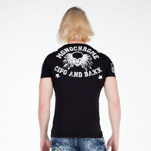 Cipo & Low Herren T-shirt