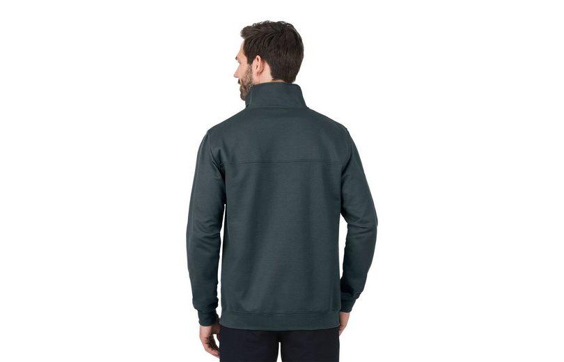 TRIGEMA Sweatshirt mit Reißverschluss Neuer Stil Freies Verschiffen Ursprüngliche bEm9Umnde