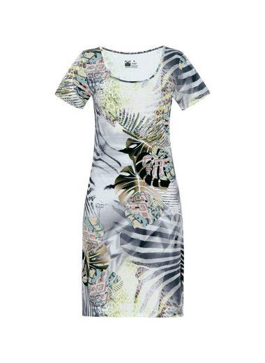 Trigema Knielanges Kleid Dschungel