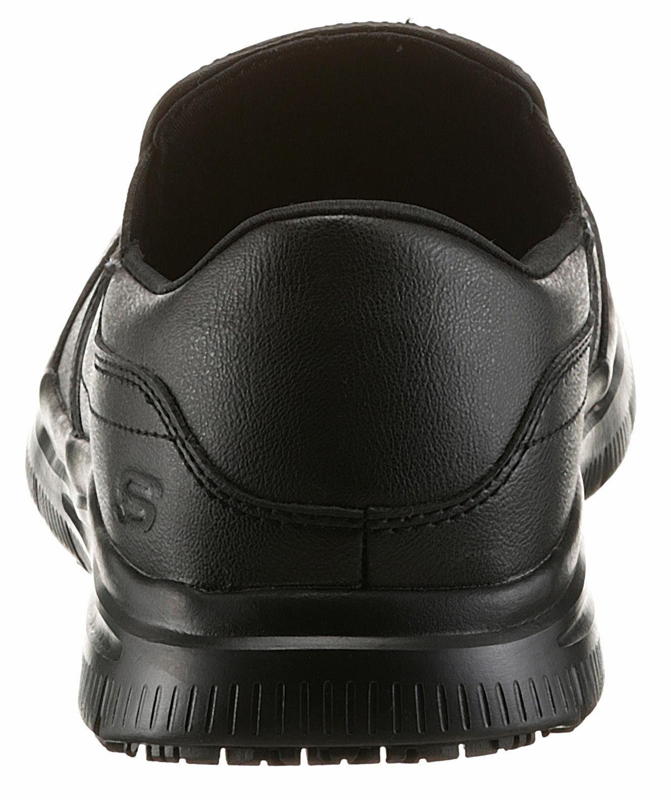 Skechers Arbeitsschuh, mit rutschfester Gummilaufsohle online kaufen  schwarz