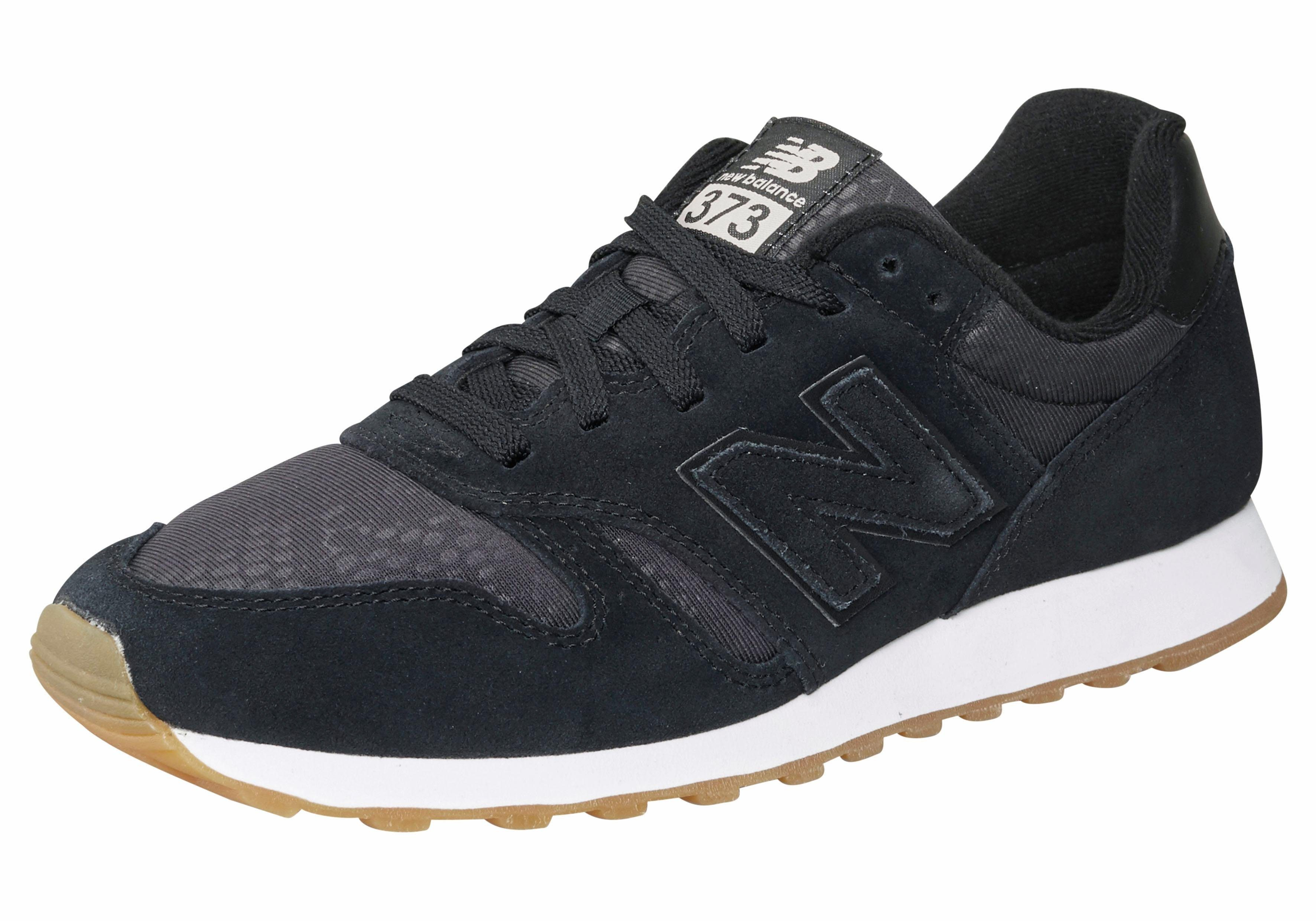 New Balance »WL 373« Sneaker, schwarz, schwarz