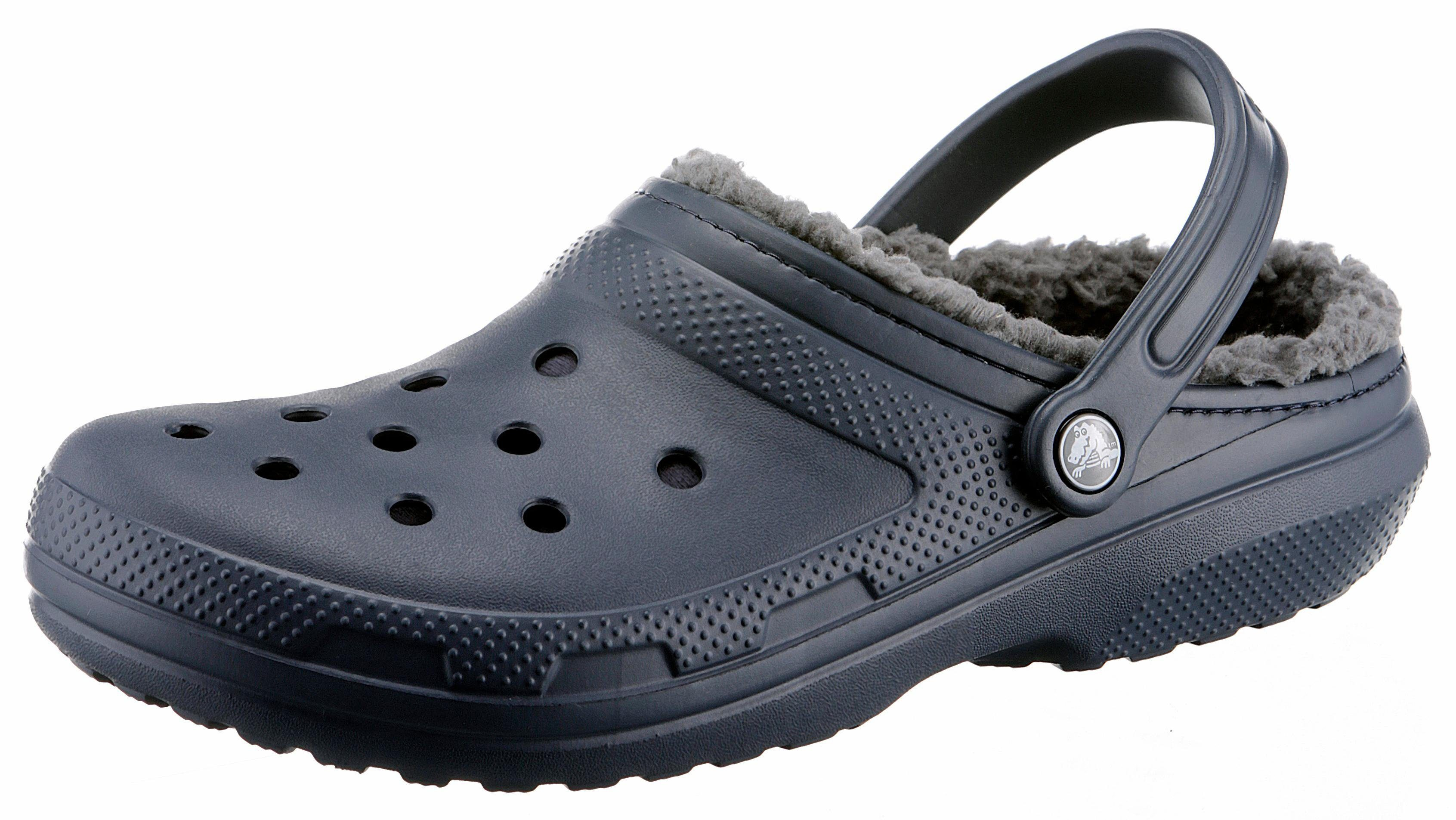 Crocs Classic Lined Clog Clog, mit kuscheligem Fellimitat online kaufen  navy
