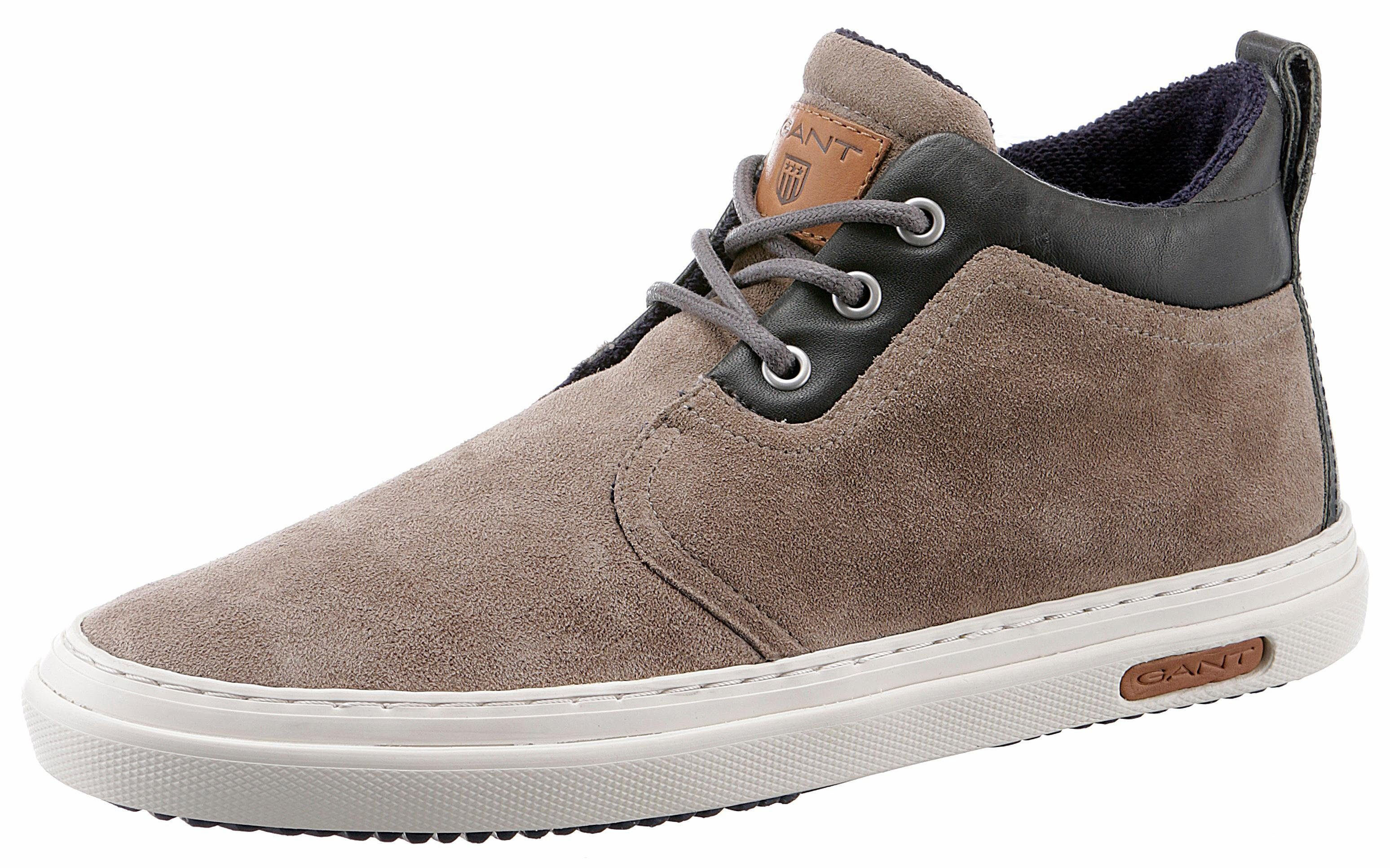 Gant Footwear Sneaker, im Materialmix, grau, grau