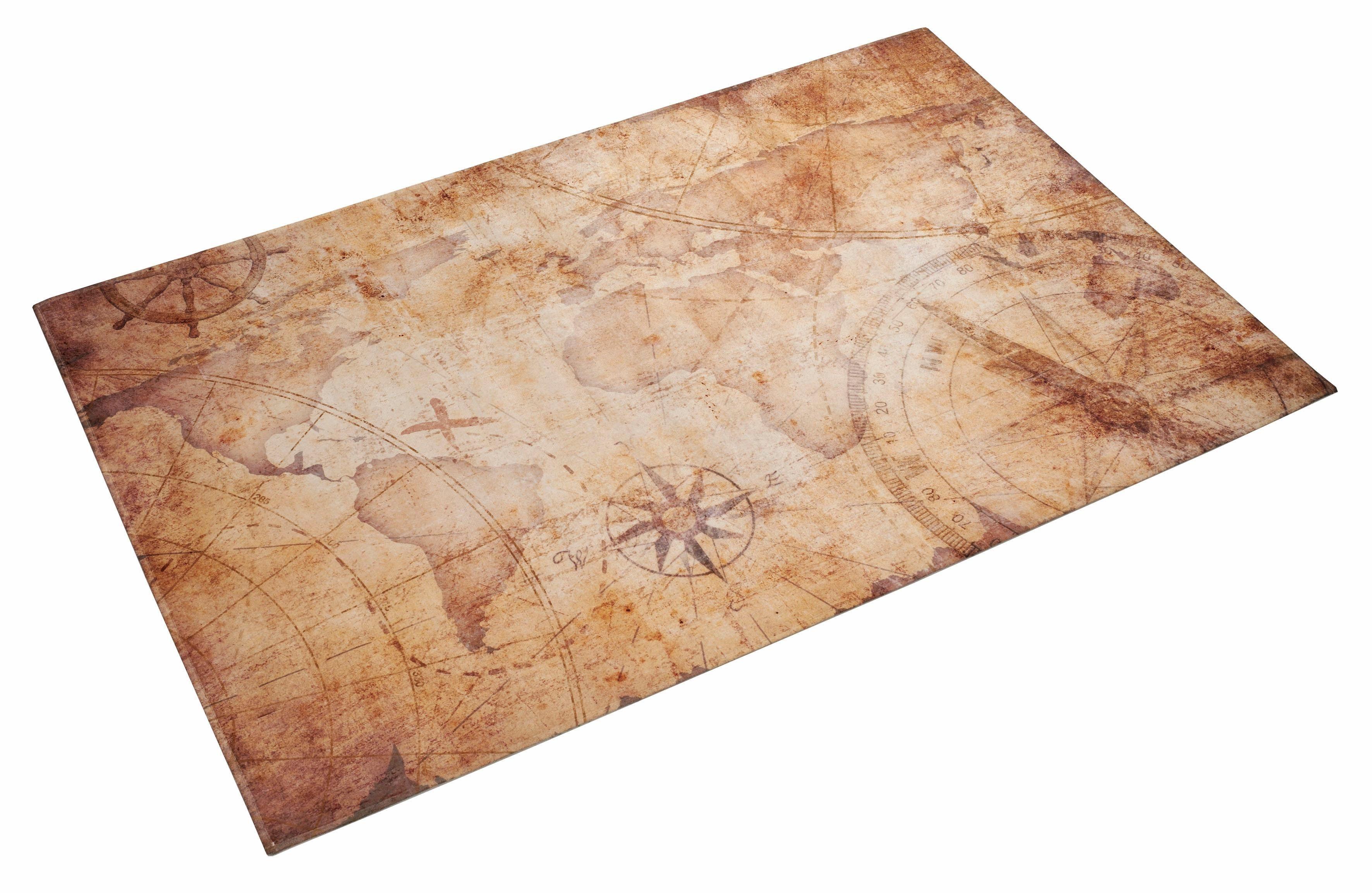 Kinderteppich »Lovely Kids 412«, Böing Carpet, rechteckig, Höhe 6 mm, Stoff Druck, weiche Microfaser