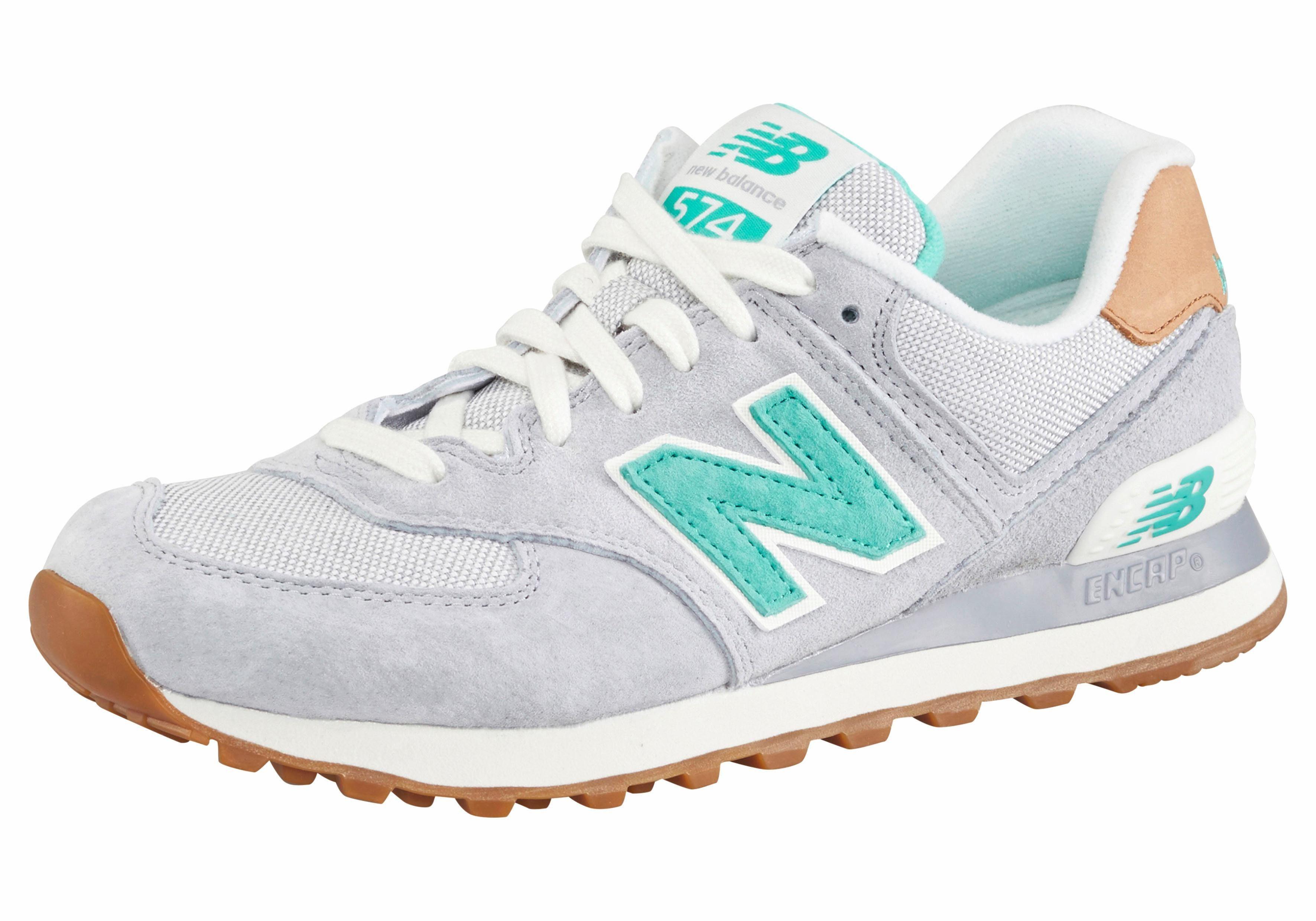 New Balance WL 574 BCB Sneaker online kaufen  grau-grün