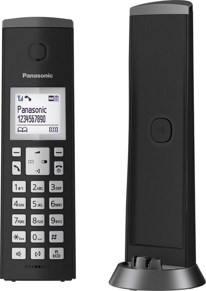 panasonic kx tgk220 schnurloses dect telefon mit ab online. Black Bedroom Furniture Sets. Home Design Ideas