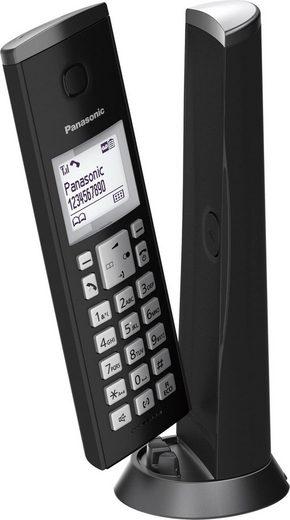 Panasonic »KX-TGK220« Schnurloses DECT-Telefon (Mobilteile: 1, 4 Wege Navigationstaste)